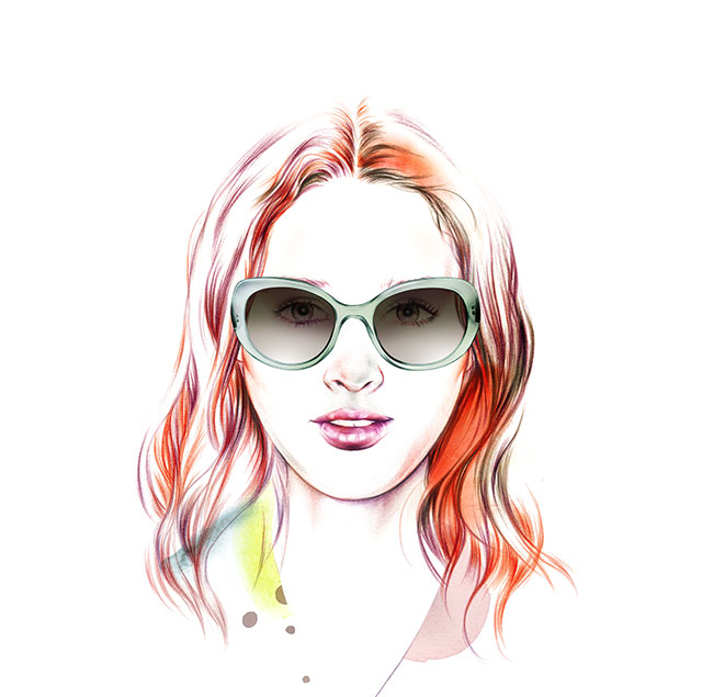 Face Shape oval - Female - Sunglass Hut Hong Kong
