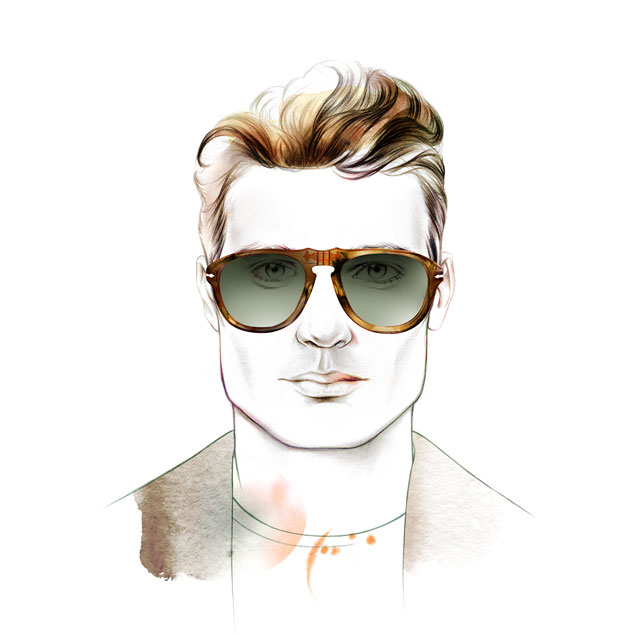 Face Shape square - Male - Sunglass Hut Portugal